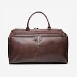 Bolsa para viagem em couro café - Brent