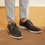 Sapato Masculino Derby Mancini Black