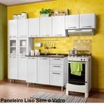 Cozinha de Aço Completa Multipla 4 Peças 14 Portas 2 Gavetas Branco - Cozinhas Bertolini