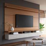 Painel Home City Para Tv Até 60'' 2.20m Natural/Off - Móveis Província
