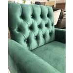 Poltrona Decorativa Safira Verde - Styllus Brasil