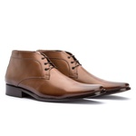 Bota Ankle Boot Masculina Koning Ferrara Whisky