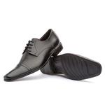 Sapato Social Brogue Masculino Koning Turin Black