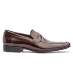 Sapato Loafer Masculino Koning Cannes Café
