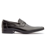 Sapato Loafer Masculino Koning Cannes Black