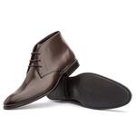Bota Ankle Boot Masculina Koning Verona Café
