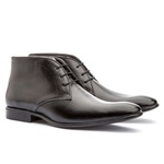 Bota Ankle Boot Masculina Koning Verona Black