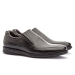 Sapato Loafer Masculino Koning Gel Chicago Black