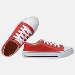 Tenis Casual Converse B2C Shoes Cano Baixo Vermelho