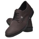 Sapato Oxford Casual Confort Café