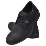 Sapato Oxfordo Confort Preto