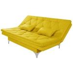Sofá Cama 3 Lugares Multiuso Austria Amarelo