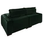 Sofá Retrátil Reclinável Dubai Luxo Com Molas Ensacadas 2,05m Verde