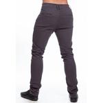 Calça Masculina de Sarja Confort Slim Grafite