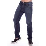 Calça Jeans Masculina Skinny Navy Blue