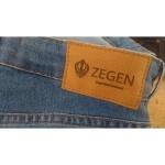 Calça Jeans Masculina Skinny Zegen Light Blue