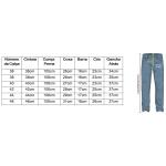 Calça Jeans Masculina Skinny Zegen Navy Blue