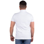 Camisa Polo Com Bolso Masculina Zegen Branca