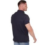Camisa Polo Masculina Zegen Azul Marinho DVA