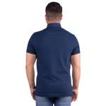 Camisa Polo Masculina Zegen Azul Marinho XD