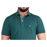 Camisa Polo Masculina Zegen Verde XD