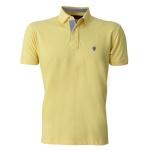 Camisa Polo Masculina Zegen Amarela DX