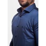 Camisa Masculina Manga Longa Zegen Azul Marinho