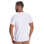 Camiseta Algodao Egipcio Masculina Zegen Branca