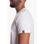 Camiseta Algodão Egípcio Masculina Zegen Off White