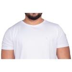 Camiseta Algodao Pima Masculina Zegen Branca