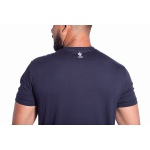 Camiseta Masculina Básica Confort Azul Marinho