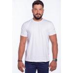 Camiseta Masculina Básica Confort Branca