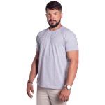 Camiseta Básica Masculina Zegen Cinza