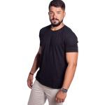 Camiseta Masculina Básica Confort Preta