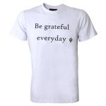 Camiseta Zegen Be Grateful