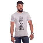 Camiseta Masculina Estampada Zegen Coffee