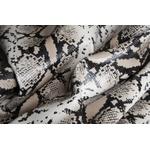 Estampados Snake Branco/Preto (p/m/g)
