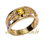 anel de formatura ouro amarelo 18K 750-ASP-AF-1138