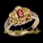 anel de formatura ouro amarelo 18K 750 linha moderna