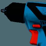 Furadeira Parafusadeira bivolt bateria 12V GSR 1000 Smart Bosch