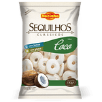 Sequilhos Clássicos Coco Sem Glúten 350g