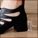 Sapato Retro Preto- 913-04