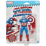 CAPTAIN AMERICA - MARVEL LEGENDS: WAVE MARVEL VINTAGE