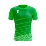 Camisa Jogo Verde com detalhes em Listras Brancas