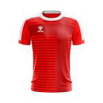 Camisa Jogo - Vermelha com Detalhes em Cruz