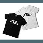 Kit 2 Camisetas Masculina Adaption Preta/branca