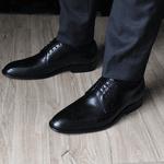 Sapato Social Derby Brogue - Irlan Preto