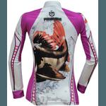 Camiseta De Pesca Proteção Solar UV King KFF401