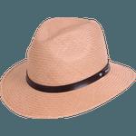 Chapéu Pralana Panamá Weekender II Bege
