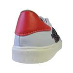 Tênis Dedmar Sintético Branco e Vermelho